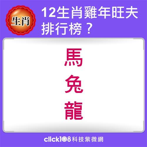 12生肖雞年旺夫排行榜