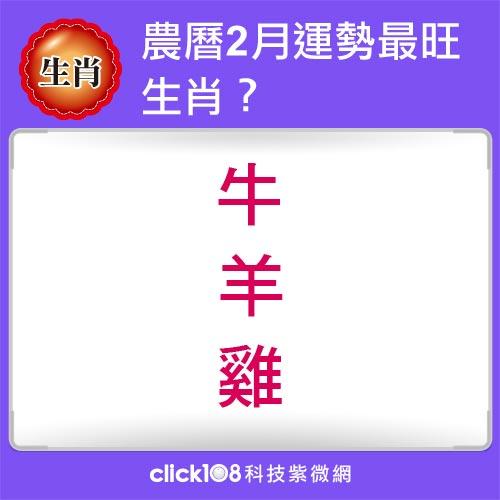 12生肖農曆2月運勢