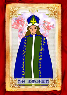 5. 教皇(The Hierophant)