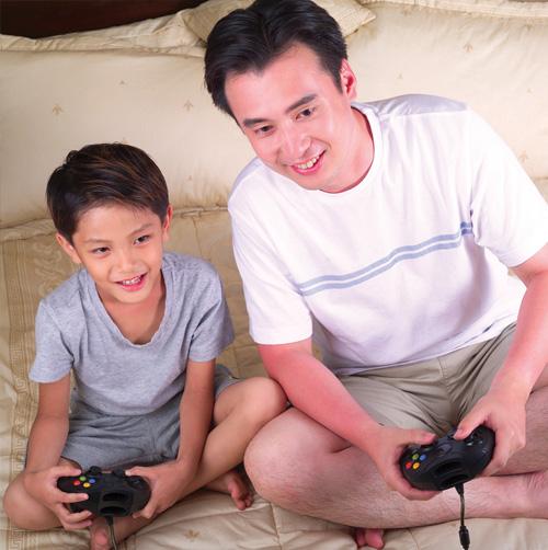 哪種類型的爸爸愛和孩子爭寵?