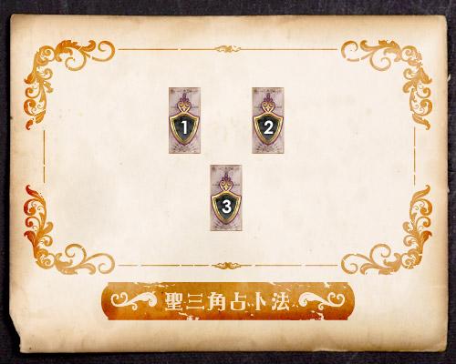 聖三角占卜法