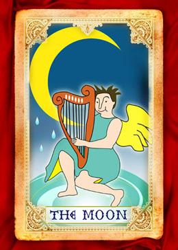 月亮(正位)