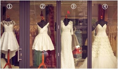 圖片心測:選款婚紗測你婚後是什麼命?