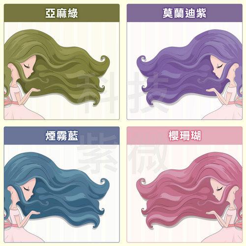 圖片心測:髮型顏色
